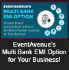 Enhance Your Business Potential Significantly with EVENTAVENUE's Multi Bank EMI Facility